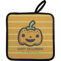 Halloween Pumpkin Pot Holder (Personalized)