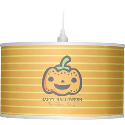 Halloween Pumpkin Drum Pendant Lamp (Personalized)