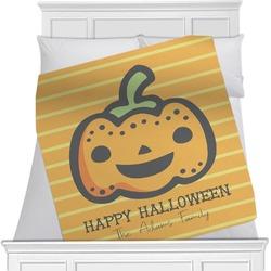 Halloween Pumpkin Blanket (Personalized)