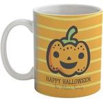 Halloween Pumpkin Coffee Mug (Personalized)