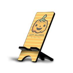 Halloween Pumpkin Phone Stand (Personalized)