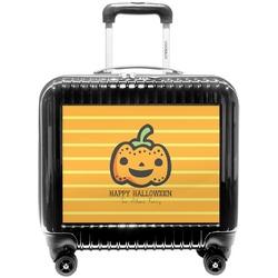 Halloween Pumpkin Pilot / Flight Suitcase (Personalized)