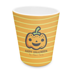 Halloween Pumpkin Plastic Tumbler 6oz (Personalized)