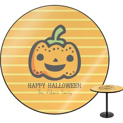 Halloween Pumpkin Round Table (Personalized)