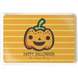 Halloween Pumpkin Serving Tray (Personalized)
