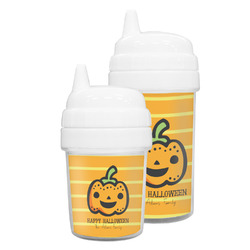 Halloween Pumpkin Sippy Cup (Personalized)