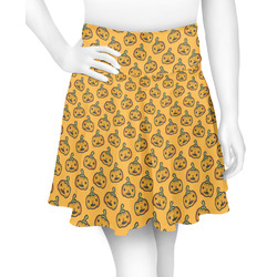 Halloween Pumpkin Skater Skirt (Personalized)