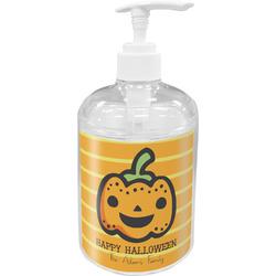 Halloween Pumpkin Acrylic Soap & Lotion Bottle (Personalized)