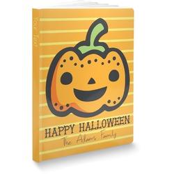Halloween Pumpkin Softbound Notebook (Personalized)