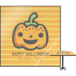 Halloween Pumpkin Square Table Top (Personalized)