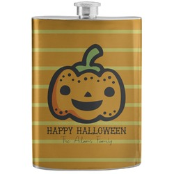 Halloween Pumpkin Stainless Steel Flask (Personalized)