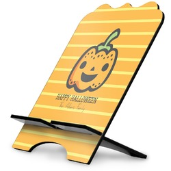 Halloween Pumpkin Stylized Tablet Stand (Personalized)