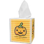 Halloween Pumpkin Tissue Box Cover (Personalized)
