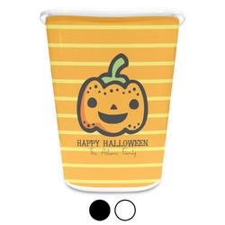Halloween Pumpkin Waste Basket (Personalized)