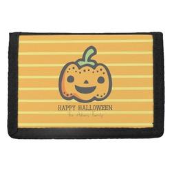 Halloween Pumpkin Trifold Wallet (Personalized)
