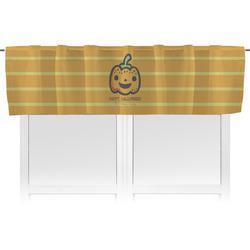 Halloween Pumpkin Valance (Personalized)