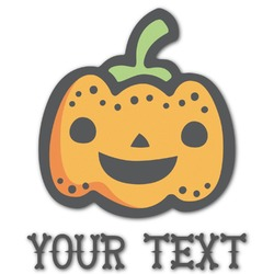 Halloween Pumpkin Graphic Decal - Custom Sized (Personalized)