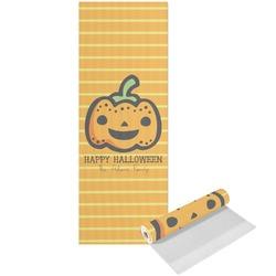 Halloween Pumpkin Yoga Mat - Printed Front (Personalized)