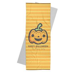 Halloween Pumpkin Yoga Mat Towel (Personalized)