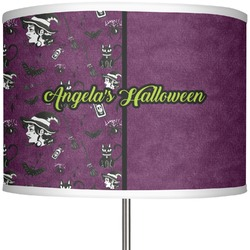 """Witches On Halloween 13"""" Drum Lamp Shade (Personalized)"""