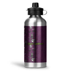 Witches On Halloween Water Bottle - Aluminum - 20 oz (Personalized)
