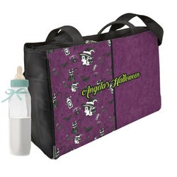 Witches On Halloween Diaper Bag (Personalized)