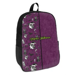 Witches On Halloween Kids Backpack (Personalized)