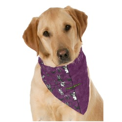 Witches On Halloween Pet Bandanas (Personalized)