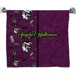Witches On Halloween Bath Towel (Personalized)