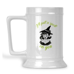 Witches On Halloween Beer Stein (Personalized)