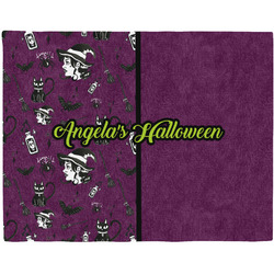 Witches On Halloween Placemat (Fabric) (Personalized)