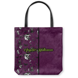 Witches On Halloween Canvas Tote Bag (Personalized)