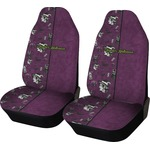 Witches On Halloween Car Seat Covers (Set of Two) (Personalized)