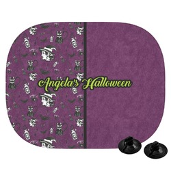 Witches On Halloween Car Side Window Sun Shade (Personalized)