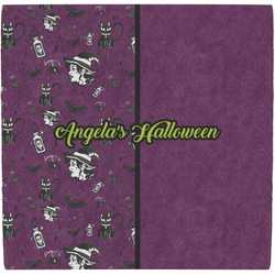 Witches On Halloween Ceramic Tile Hot Pad (Personalized)