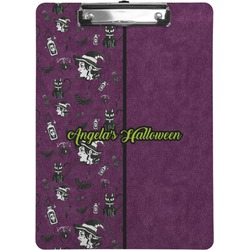 Witches On Halloween Clipboard (Personalized)