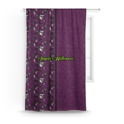 Witches On Halloween Curtain (Personalized)