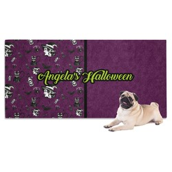 Witches On Halloween Pet Towel (Personalized)