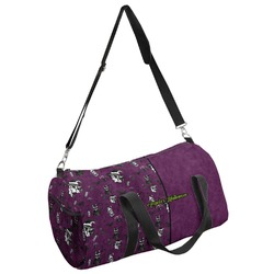 Witches On Halloween Duffel Bag (Personalized)