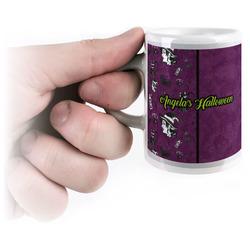 Witches On Halloween Espresso Mug - 3 oz (Personalized)