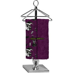 Witches On Halloween Finger Tip Towel - Full Print (Personalized)