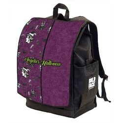 Witches On Halloween Backpack w/ Front Flap  (Personalized)