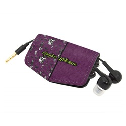 Witches On Halloween Genuine Leather Cord Wrap (Personalized)
