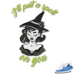Witches On Halloween Graphic Iron On Transfer (Personalized)