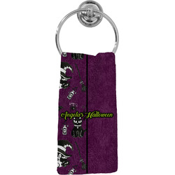 Witches On Halloween Hand Towel - Full Print (Personalized)
