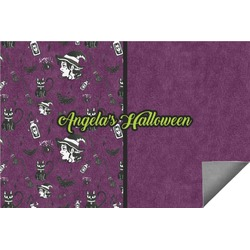 Witches On Halloween Indoor / Outdoor Rug (Personalized)