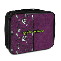 Witches On Halloween Insulated Lunch Bag (Personalized)