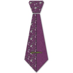 Witches On Halloween Iron On Tie (Personalized)