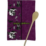 Witches On Halloween Kitchen Towel - Full Print (Personalized)