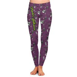 Witches On Halloween Ladies Leggings - Extra Large (Personalized)